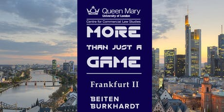 More Than Just a Game - Frankfurt II  tickets