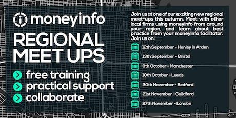 moneyinfo Regional Meet Up 4 -Leeds  tickets