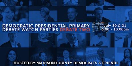 2020 Democratic Debate Watch Parties - Madison County Democrats tickets