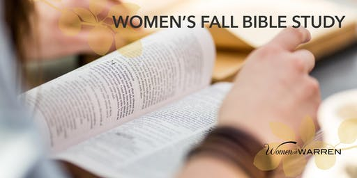 Wednesday PM Fall Bible Study 2019