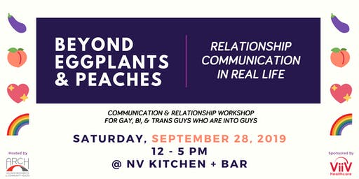 Beyond Eggplants & Peaches: Relationship Communication IRL