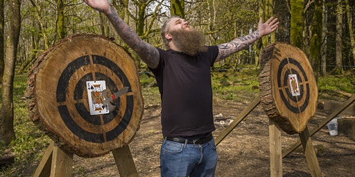 Axe throwing - Merry Axemas! (10.00 - 11.30am, 14 December, near Cardiff)