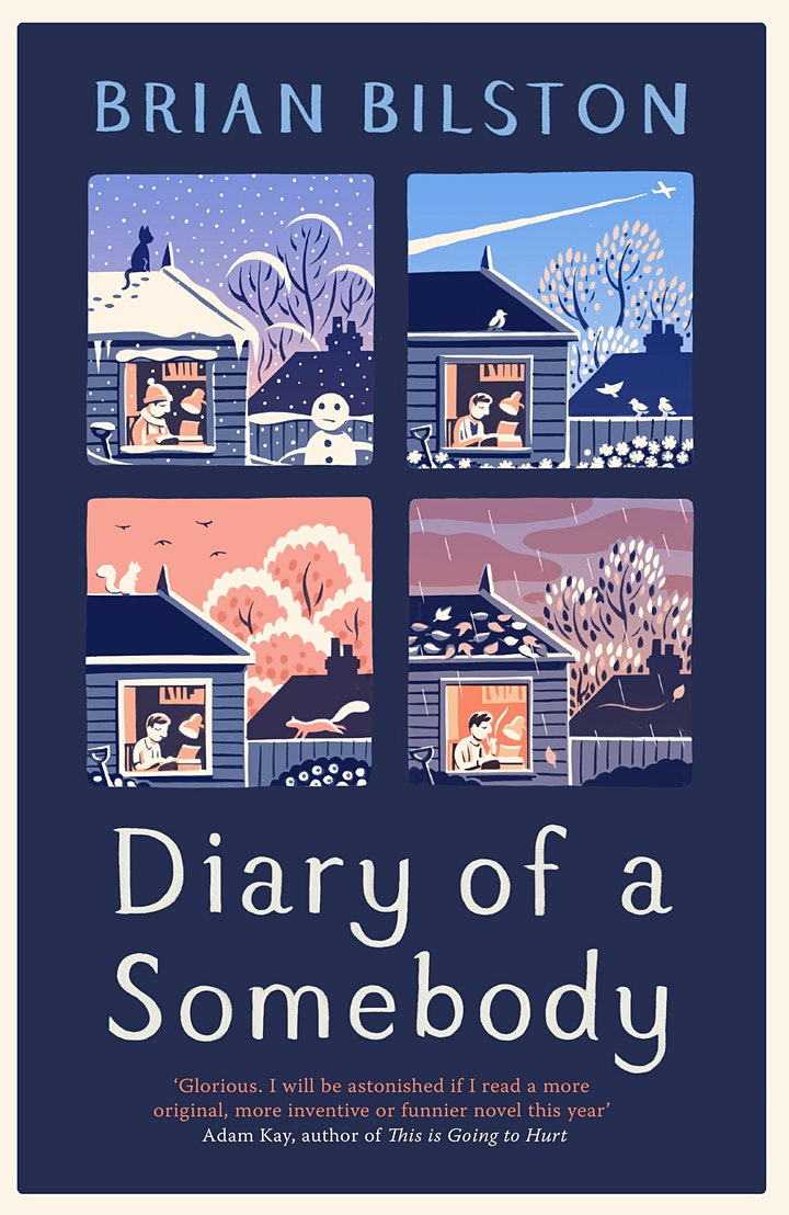 Brian Bilston -  the poet & novelist on his book 'Diary of a Somebody' image