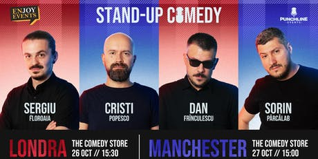 Londra Stand up Comedy Comics tickets