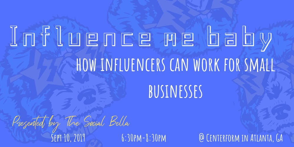 Influence Me Baby: How influencer marketing can work for small businesses