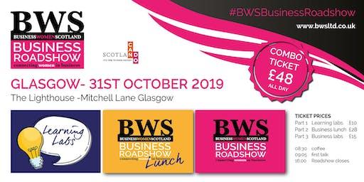 BWSBusinessRoadshow - Glasgow 31st October 2019