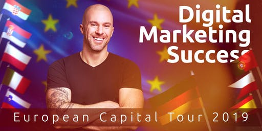 Prague - Digital Marketing Success - European Capital Tour 2019 (Czech Republic)