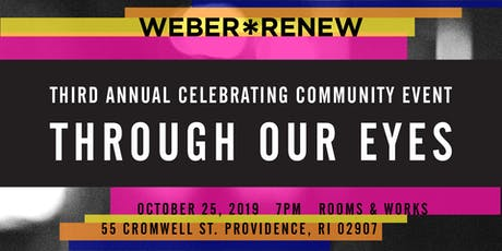 Celebrating CommUNITY: Through Our Eyes ~ Weber/RENEW's 3rd Annual Benefit tickets