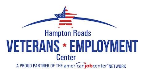 "August 2019 Veterans' ""After TAP"" Workshop tickets"