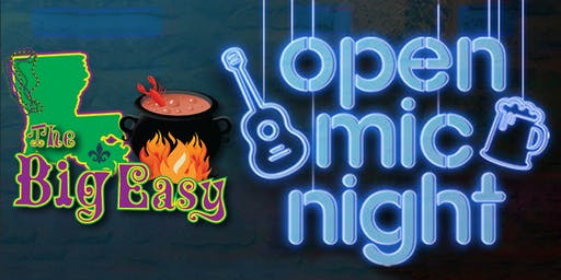 Open Mic at The Big Easy