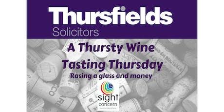 A Thursty Wine Tasting Thursday tickets