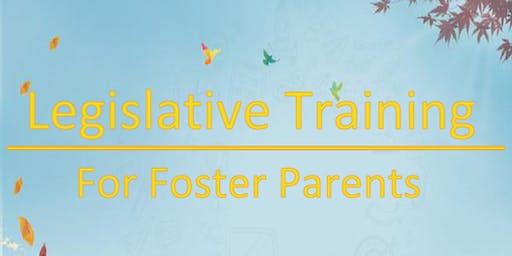 Legislative Training for Foster Parents