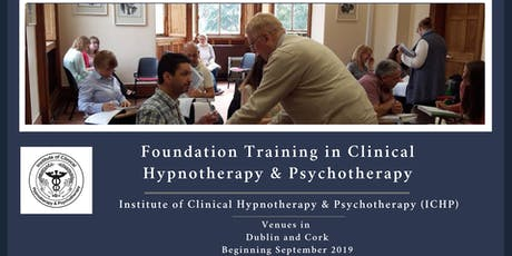 Foundation Training  in Clinical Hypnotherapy & Psychotherapytickets
