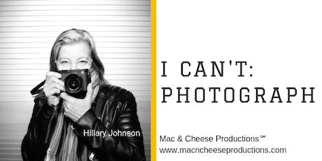 I Can't: Photograph tickets