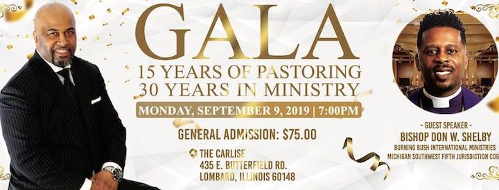 Pastor Andre' R  Fluker 15/30 Gala Celebration