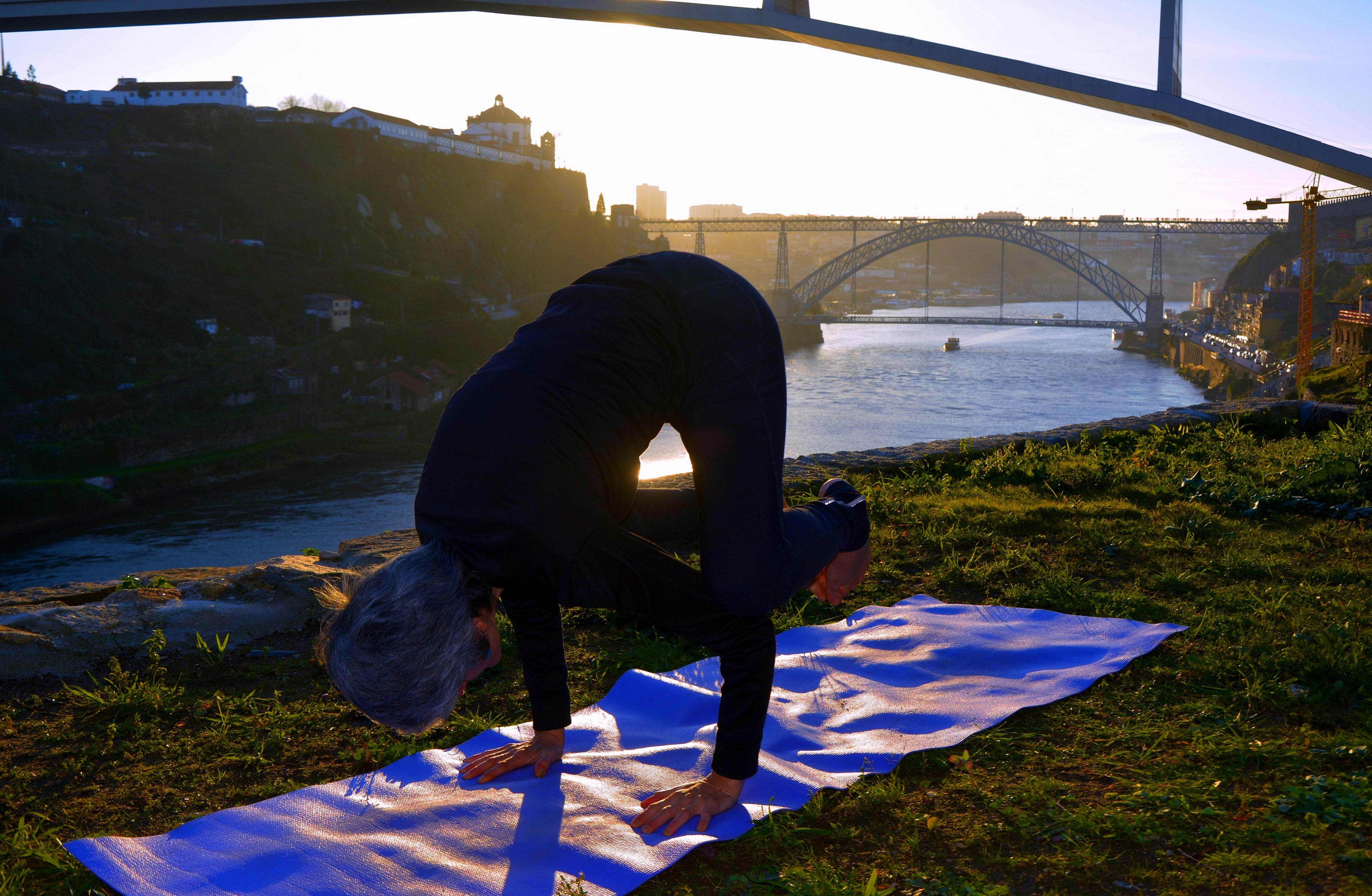 Yoga + Comida Vegana ao Douro