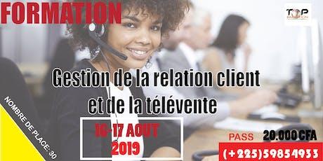 GESTION DE LA RELATION CLIENT ET DE LA TÉLÉVENTE tickets