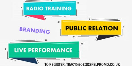 UpScale Project: Branding, Marketing & PR, Radio Training tickets