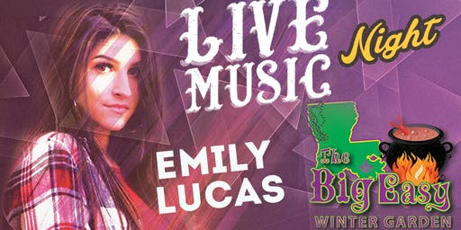 Emily Lucas Performing Live on The Big Easy Stage