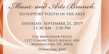 The Potomac River Chapter of The Society Incorporated  2019 Music and Arts Brunch tickets