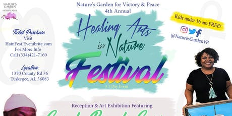 4th Annual Healing Arts in Nature Festival  tickets