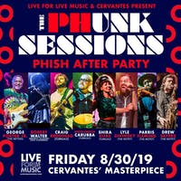 The Phunk Sessions Phish Late-Night feat. George Porter Jr. (The Meters), Robert Walter (Mike Gordon), Craig Brodhead, Michelangelo Carubba, & Shira Elias (Turkuaz), Lyle Divinsky, Drew Sayers, & Parris Fleming (The Motet)