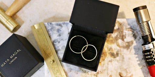 Recycled Silver/Gold Couples Wedding Band Workshop
