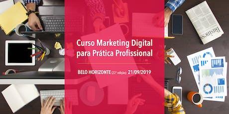 Curso Marketing Digital para Prática Profissional - 21/09/2019 - BH ingressos