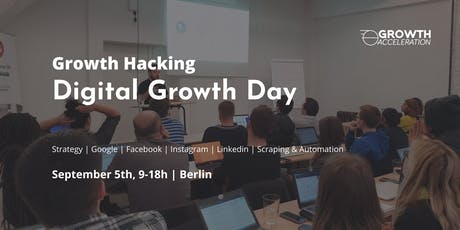 Digital Growth Day Berlin - One day marketing crash course tickets