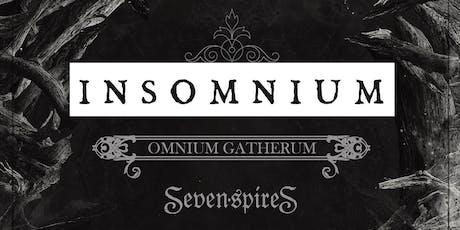 Insomnium, Omnium Gatherum, and Seven Spires tickets
