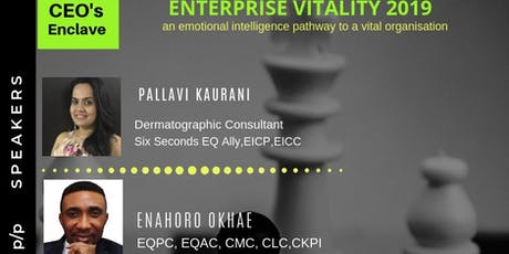 CEO's Enclave: Enterprise Vitality 2019 ; an Emotional Intelligence Pathway tickets