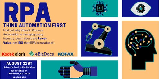 RPA with eBizDocs, Kodak Alaris, and Kofax
