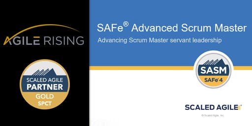 SAFe Advanced Scrum Master 4.6 with SASM Certification