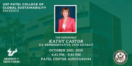 PCGS Speaker Series with U.S. Representative Kathy Castor tickets