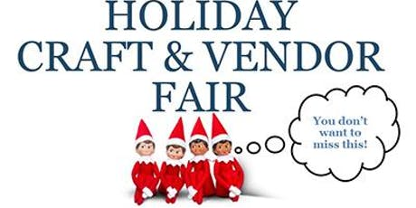 Holiday Craft and Vendor Fair tickets