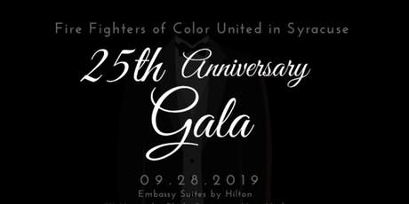 Fire Fighters of Color United in Syracuse: 25th Anniversary Gala tickets