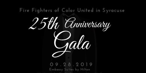 Fire Fighters of Color United in Syracuse: 25th Anniversary Gala
