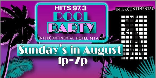 Hits 97.3 Pool Party in Miami