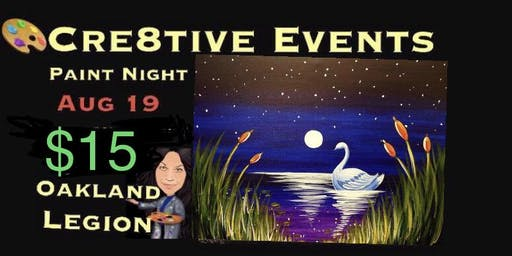 $15 Paint Night  @ Oakland Legion