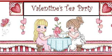 VALENTINE TEA and CRAFT PARTY WITH FASHION SHOW