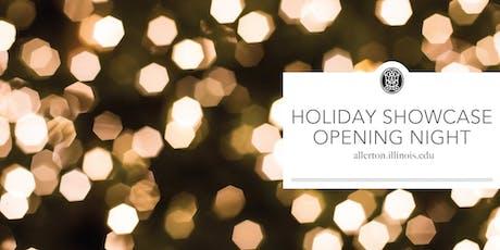 Holiday Showcase Opening Night 2019 tickets