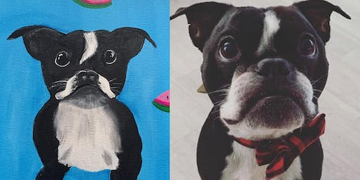 Paint your Dog Night at Miss B's Coconut Club