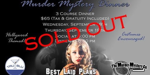 Murder Mystery Dinner - Thursday