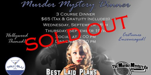 Murder Mystery Dinner - Wednesday