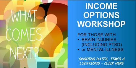 WORKSHOP: Career Options for Brain injured or mentally ill tickets