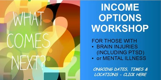 WORKSHOP: Career Options for Brain injured or mentally ill