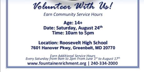 CALLING ALL VOLUNTEER 10TH ANNUAL FOUNTAIN COMMUNITY FAIR (Fountain Community Enrichment) tickets