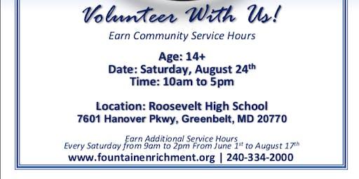 CALLING ALL VOLUNTEER 10TH ANNUAL FOUNTAIN COMMUNITY FAIR (Fountain Community Enrichment)