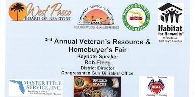 3rd Annual Veteran's Resource & Homebuyer's Fair!