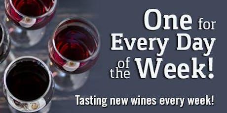 Weekly Wine Tasting tickets